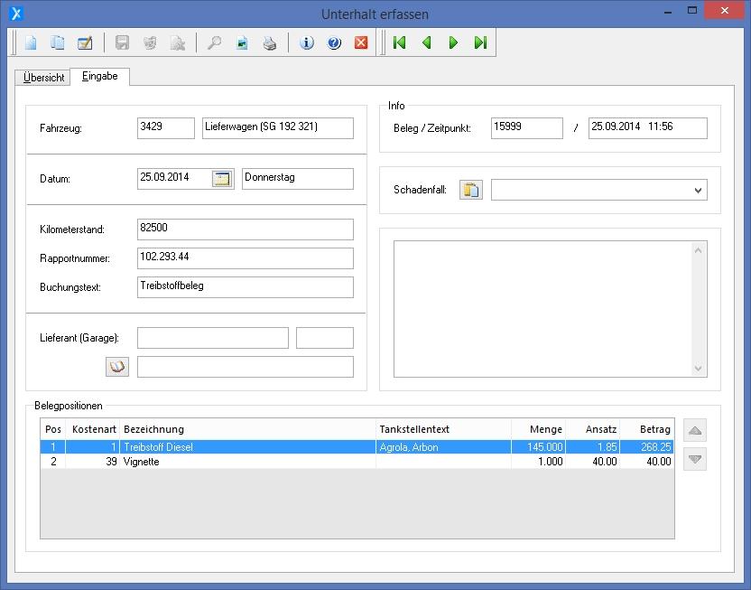 Unterhalt Berechnen Lassen Kosten : xmatik ag xtrans software fahrzeugunterhalt kosten berwachen auswerten ~ Themetempest.com Abrechnung