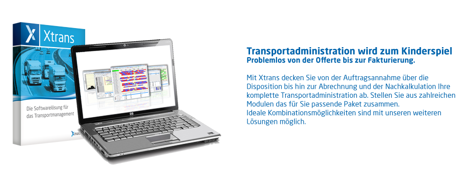Xtrans Transportadministration Transportmanagement